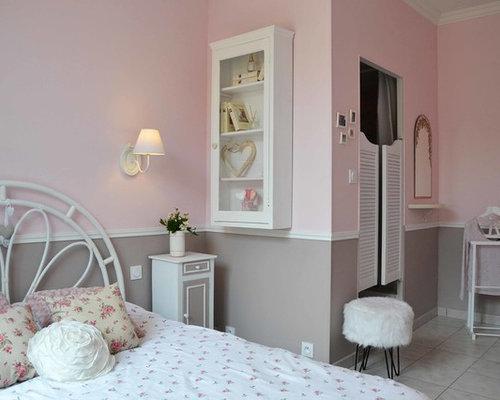 Parete Camera Da Letto Rosa : Camera da letto con pareti rosa marsiglia foto e idee per arredare
