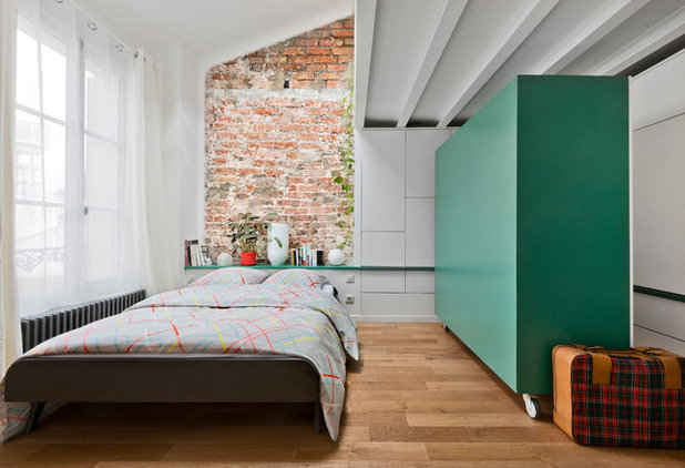 Eclectic Bedroom by Agence LALM