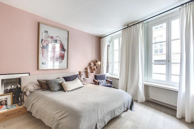 houzzbesuch: kreativ und elegant, maskulin und doch verspielt in paris, Schlafzimmer