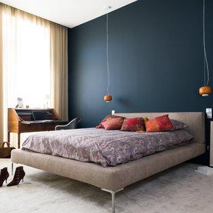 Chambre avec moquette contemporaine : Photos et idées déco de ...