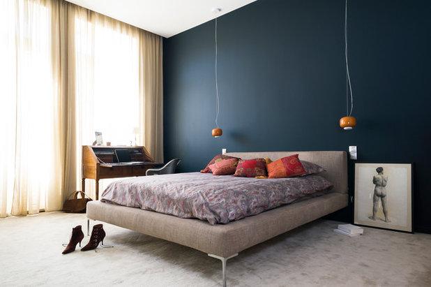 Contemporary Sovrum by De Boysson Design