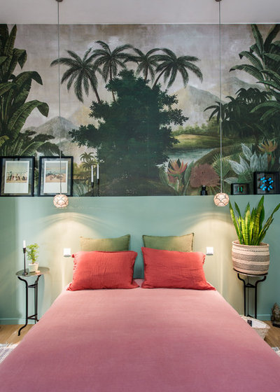 Tropicale Camera da Letto by Jours & Nuits