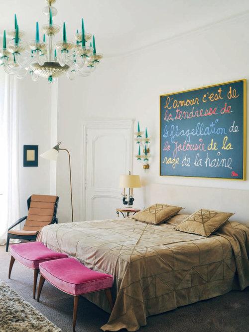 chambre avec un sol en moquette photos et id es d co de chambres. Black Bedroom Furniture Sets. Home Design Ideas