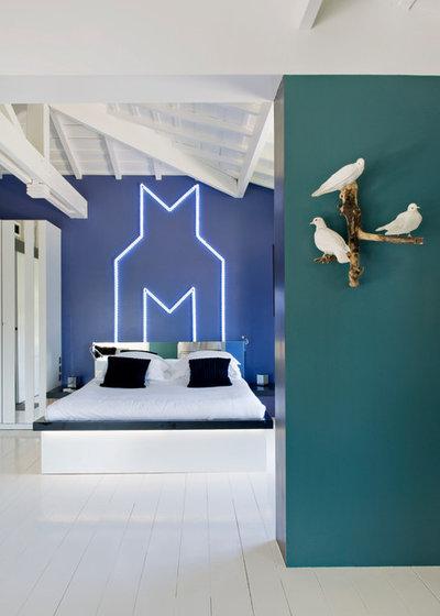 Contemporary Bedroom Contemporain Chambre