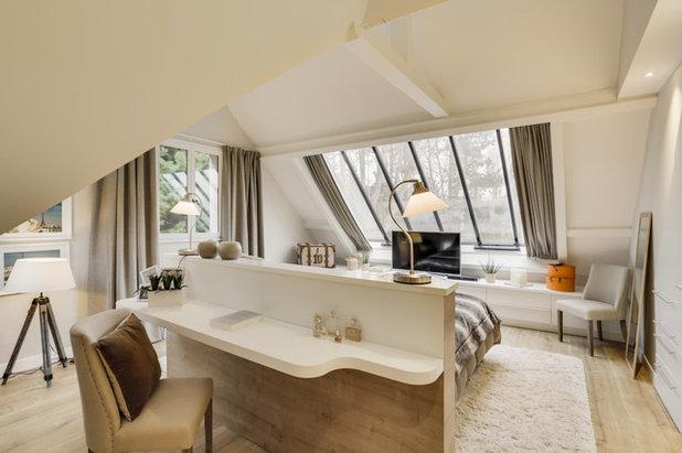 Classique Chic Chambre by Agence NovaOm Architecture d'intérieur