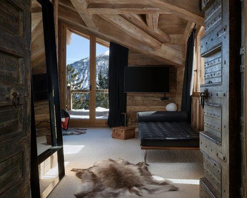 chambre avec moquette montagne photos et id es d co de chambres avec moquette. Black Bedroom Furniture Sets. Home Design Ideas