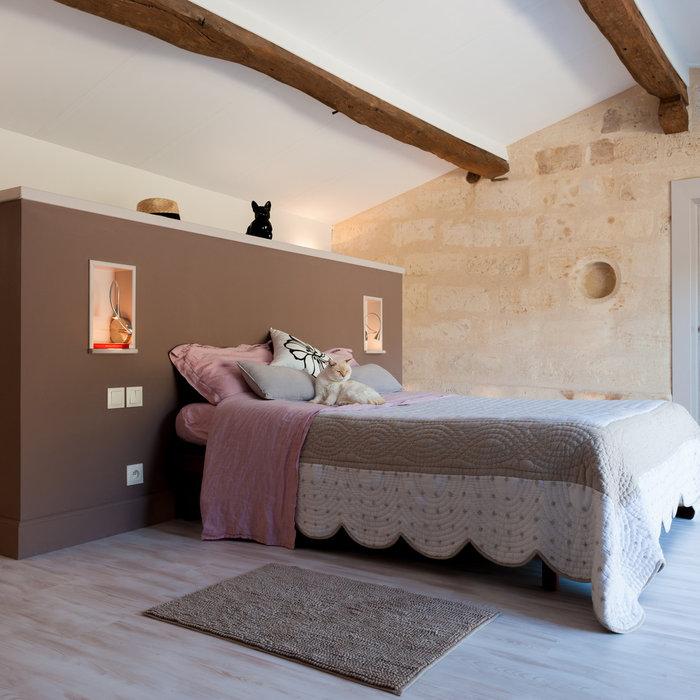 Création d'une chambre dans une ancienne bâtisse