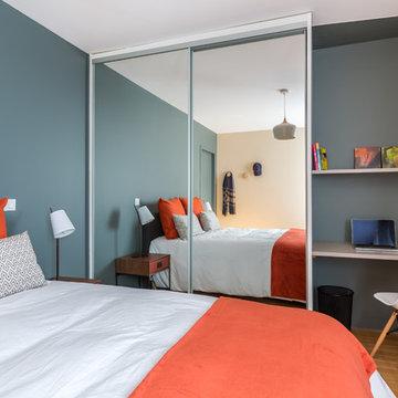 Décoration d'un autre appartement neuf dans le programme CHEVERUS à Bordeaux