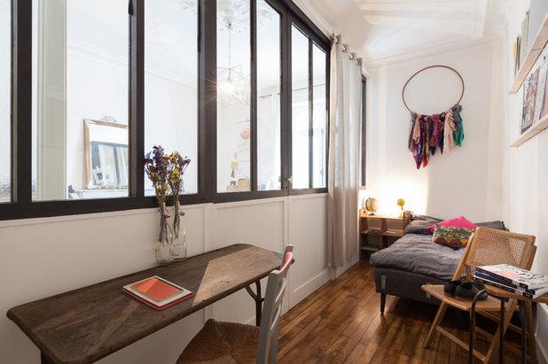 10 bonnes raisons d\'installer une verrière atelier dans la chambre