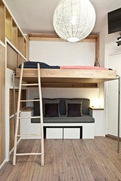 Aménagement d\'une chambre de 9m² 75010
