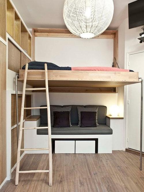 Petite chambre mansardée ou avec mezzanine : Photos et idées déco ...