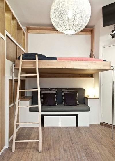 Современный Спальня by Graldine Lafert