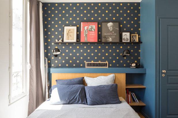Contemporain Chambre by Bän Architecture