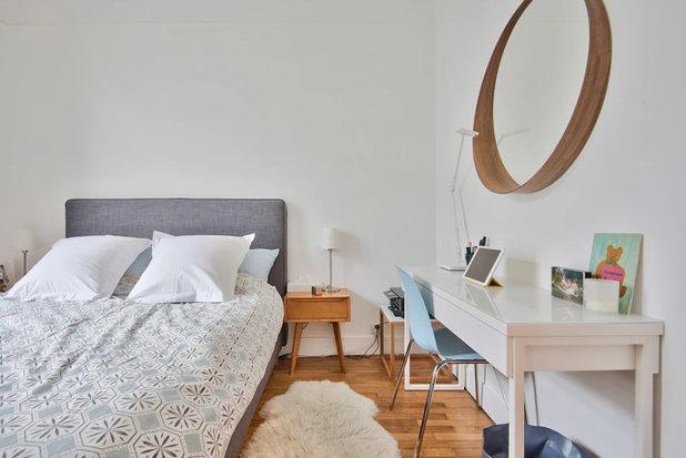 ミッドセンチュリー 寝室 by NEVA Architecture Intérieure - Interior Design