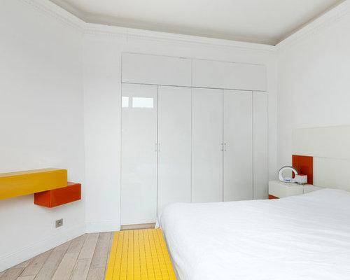 Chambre jaune et grise : Photos et idées déco
