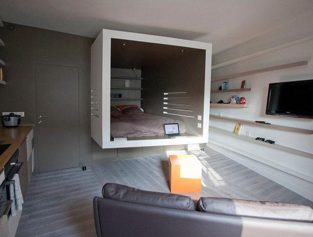 Modern Schlafzimmer by Cyril Rheims Architecte