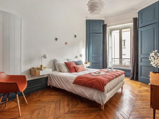Classique Chic Chambre by CHADOWS Design d'Intérieur