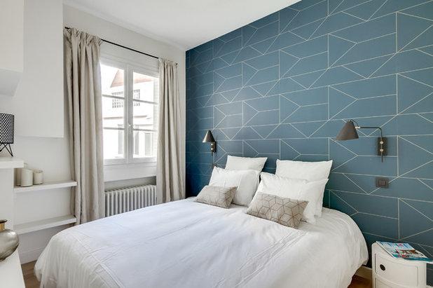 Skandinavisch Schlafzimmer by Caroline ANDREONI
