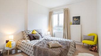 Home-staging Appartement T4 - Chambre parentale - Saône-et-Loire
