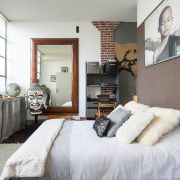 Home staging dans un loft habité à Montreuil (93)