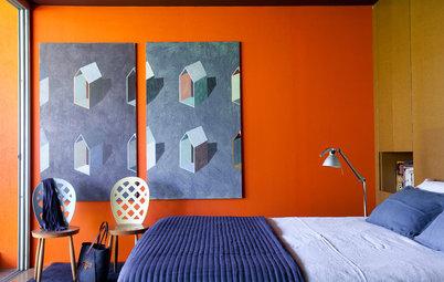 Murs : Mettez de l'énergie dans votre foyer grâce aux couleurs vives !