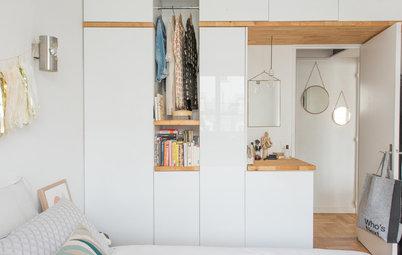 10 idées pour aménager un dressing dans une petite chambre