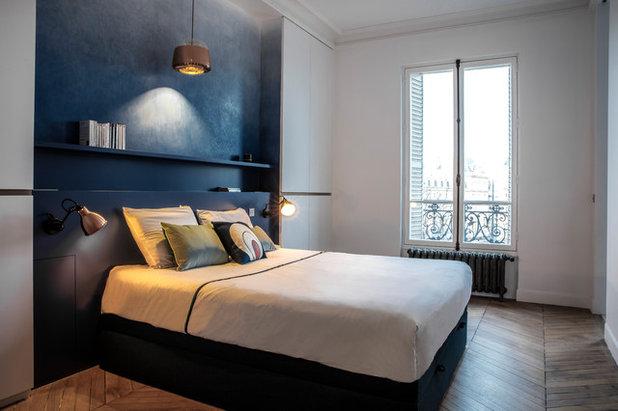 Contemporary Bedroom by Miriam Gassmann