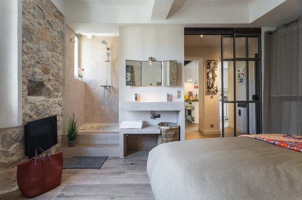 Mediterranean Bedroom by Franck Minieri, Photographer