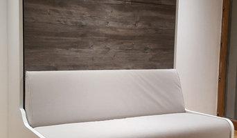 Lits escamotables canapé et aménagements sur mesure