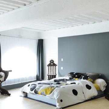 Loft duplex atelier à Lyon 5ème © Christel Mauve Photographe