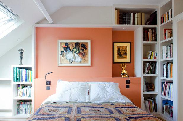 Modern Schlafzimmer by Anne Steichen Architecte d'Intérieur