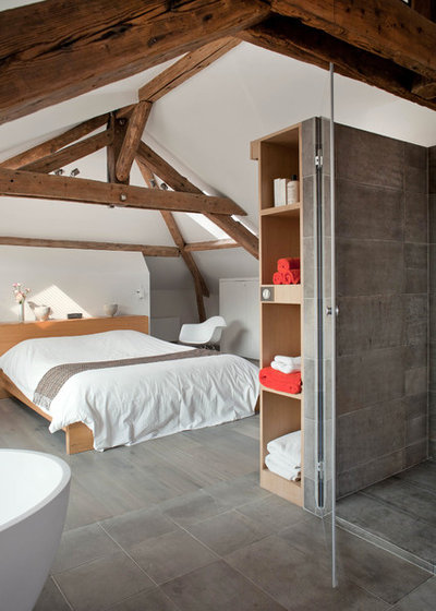 Contemporary Bedroom by Olivier Chabaud Architecte
