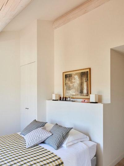 Contemporain Chambre by Agence POBA - Pierre Olivier Brèche Architectures