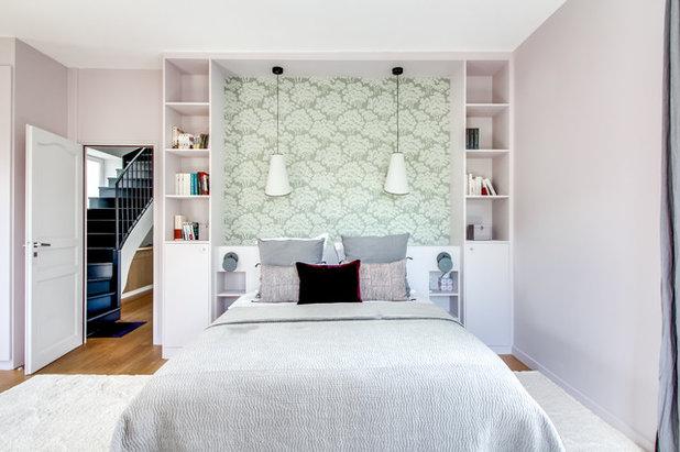 9 idées pour pimenter une tête de lit blanche