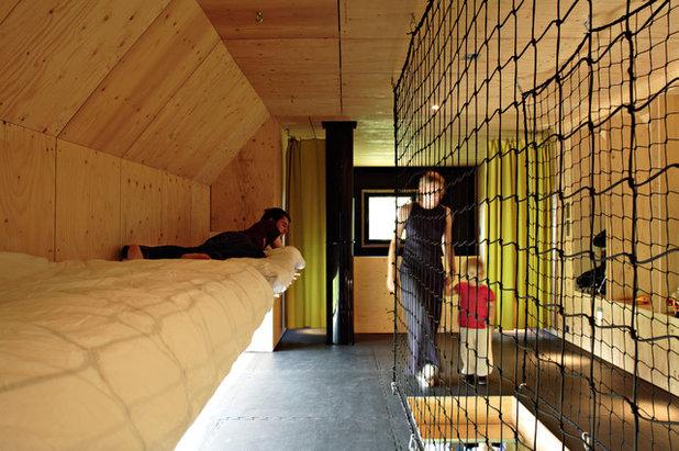 Contemporain Chambre by Lode Architecture