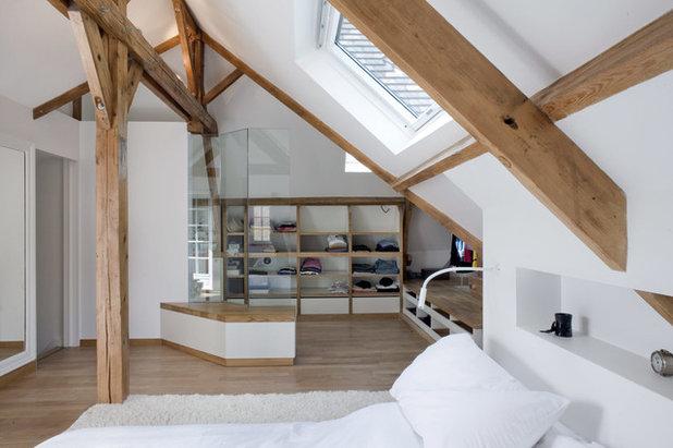 Dans quels cas faut il opter pour un meuble sur mesure for Chambre sous toiture