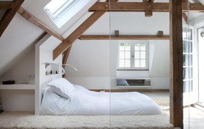 8 chambres cosy aménagées sous les combles