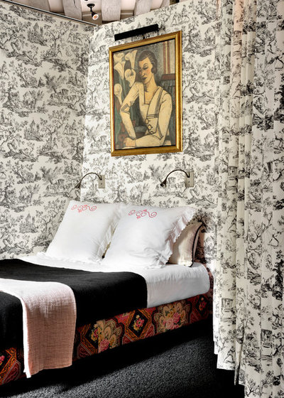 Eclectic Bedroom by Olivier Gay Architecture & Design