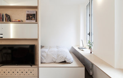 Houzz Tour: A Paris Pied-à-Terre for the Workweek