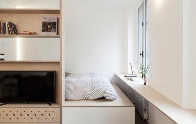В закладки: Дизайн квартиры-студии 25 кв.м (7 проектов)