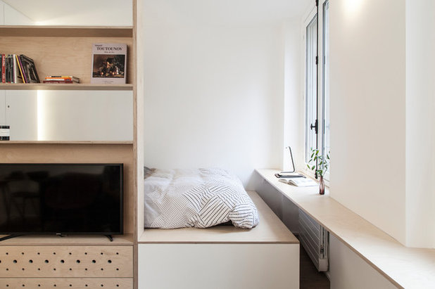 Skandinavisch Schlafzimmer by atelier daaa