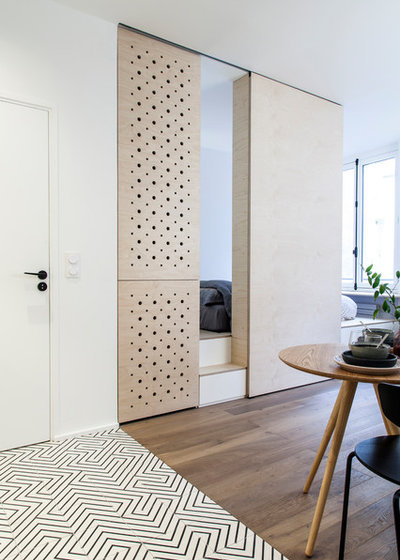 Skandinavisk Soveværelse by atelier daaa