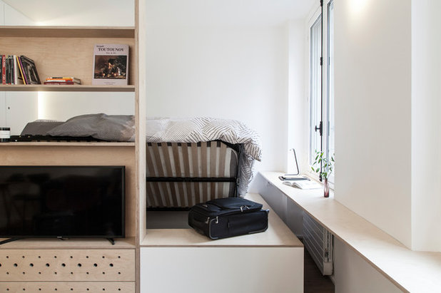 北欧 寝室 by atelier daaa