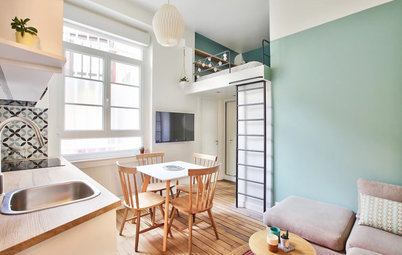Houzz Tour: A Tiny Paris Studio With a Big Presence