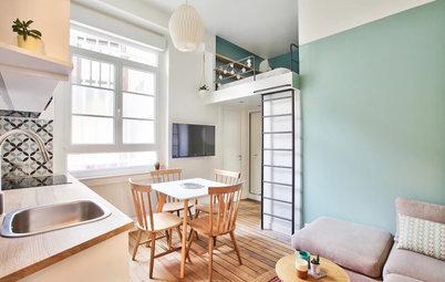Visite Privée : Ce studio de 20 m² paraît beaucoup plus vaste