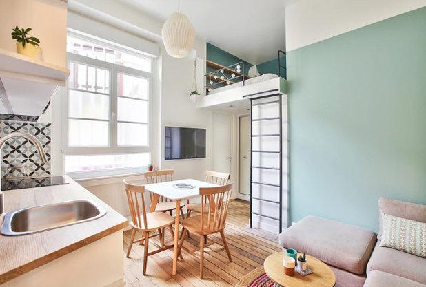 北欧 寝室 by NEVA Architecture Intérieure - Interior Design