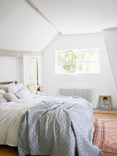 Country Bedroom by A+B KASHA Designs