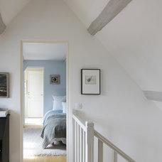Farmhouse Bedroom by A+B KASHA Designs