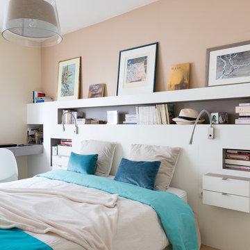 Paris 17ème - Appartement 140m2 - Décoration et mobilier sur-mesure