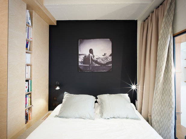 Contemporary Bedroom by Atelier Pelpell